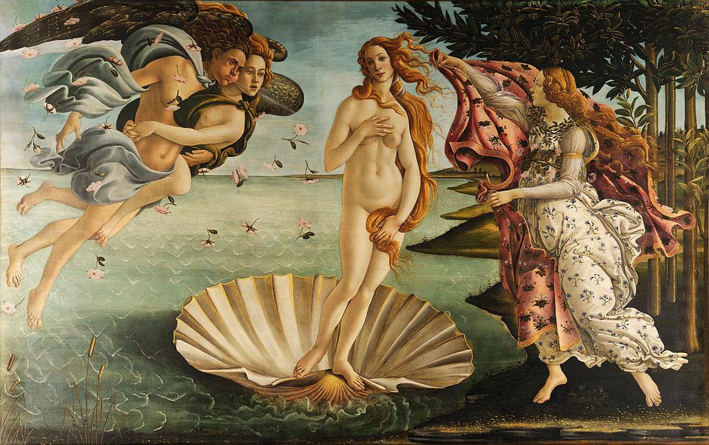 La naissance de Vénus par Sandro Botticelli
