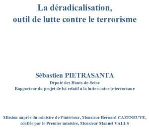Déradicalisation